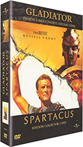 Gladiator (Version longue) / Spartacus - Coffret Collector 5 DVD