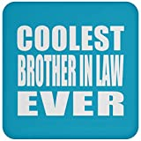 Best Ever Big Brothers - Designsify Coolest Brother in Law Ever - Posavasos Review
