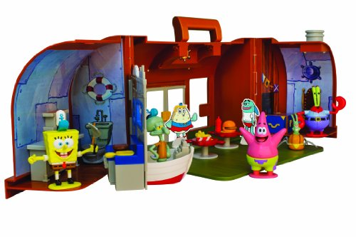 Image of Simba Spongebob Krusty Krab Action Figure Playsets