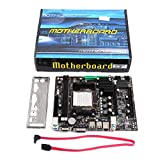 Jiobapiongxin A780 PC de sobremesa Ordenador, Placa Base La Placa Base AM3 es Compatible con el Canal Dual DDR3