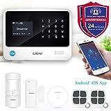 ERAY S2 Alarmas para Casa WiFi+gsm/ 3G+GPRS, Antirrobo, Inalámbrico,...