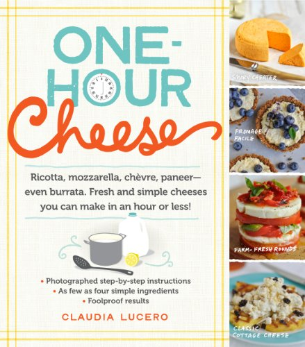 Make fresh cheese at home—in under an hour! Through recipes that are specific, accessible, and rated easy, easier, and easiest, Claudia Lucero shows step-by-step—with every step photographed in full color—exactly how to make sixteen fresh cheeses ...