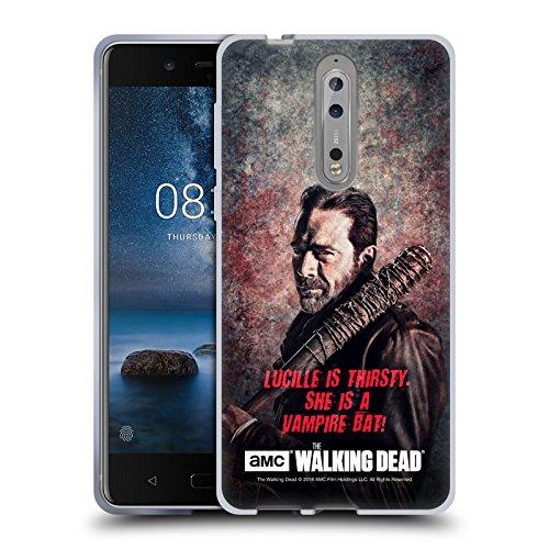 alking Dead Lucille Vampir Fledermaus Negan Soft Gel Hülle für Nokia 8 (Negan-fledermaus)