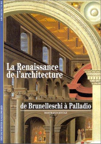 La Renaissance de l'architecture