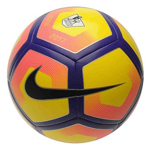 Nike 2016–2017Pitch balones de fútbol tamaño 34y 5, color amarillo/morado, tamaño talla 5