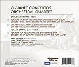 Stamitz - Clarinet Concertos; Orchestral Quartet