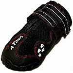 4Paws Dog Boot Active Paw Protectors - (1 x Pair - 2 boots) Reflective and Robust with rubber grip sole and breathable… 9