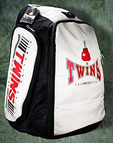 Twins Thai Kick Boxen Studio Equipment Tasche Pack Licht Grau Farbe -