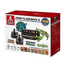ATARI FLASHBACK 9 BOOM! RETRO KONSOLE mit 2 Controllern, 110 GAMES + HDMI OUTPUT