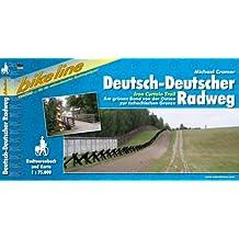 Deutsch-Deutscher Radweg: IronCurtainTrail. Am grünen Band von der Ostsee zur tschechischen Grenze. 1:75000