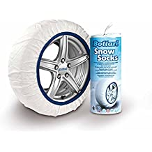 Bottari 68060 Cadenas textiles para nieve, Talla Small, Compatible con ABS y ESP, Certificado TUV y GS Onorm