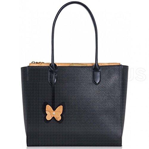 Borsa Donna Shopping a Saplla | Alviero Martini 1^Classe Geo | LGI6194070001-Nero