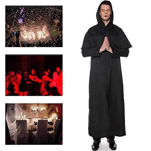 JH&MM Halloween Kostüm Herren Kostüm Hexe Robe