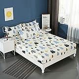 huyiming Verwendet für Einzelteil 1.2/1.5/1.8m Bettdecke Bett Rock Matratzenbezug Simmons...