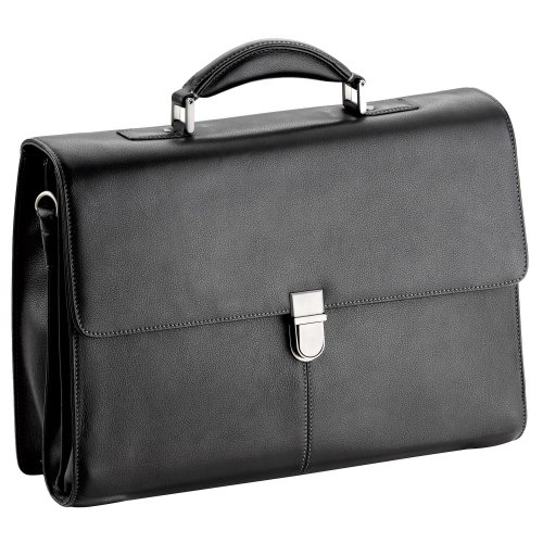 d & n Business Line Aktentasche Leder 42 cm -