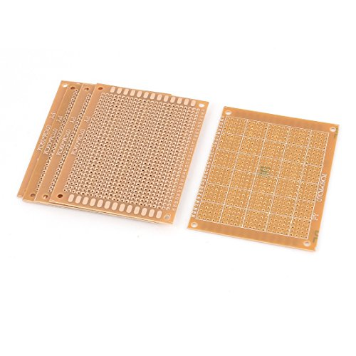 Sellify 5Pcs Single-sided PCB Printed Electric Circuit Prototype Board 7x9cm