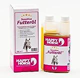 Happy Horse Sensitive Futteröl 500 ml  - Wenn Ihr Eurem Pferd etwas wirklich Gutes geben wollt. Einzigartige & Exklusive Ölmischung
