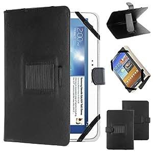 """ebestStar - pour tablette PC 9"""" 10"""" 10,1"""" 10.2"""" (23,0cm < longueur < 27,5cm et 14,0cm < largeur < 18,0cm) Housse universelle, étui support d'inclinaison Couleur NOIR. Ex compatible : Galaxy Tab A, Tab A 2016, Tab E, Tab S S2 / iPad 2 3 4 Air / Lenovo TAB2 A10 / Archos 101D Neon, 101B Oxygen, ARNOVA G4, G3, G2 / Acer ICONIA A3, One 10 / Asus Zenpad 3S 10 Z500M, 10 Z300C, Memo Pad 10 ME103K ME102A / Epad Apad, Blackberry Player Book, HTC Flyer, Motorola XOOM, Logicom, Artizlee ATL-21 ..."""