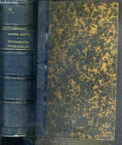 DICTIONNAIRE BIOGRAPHIQUE ET BIBLIOGRAPHIQUE ALPHABETIQUE ET METHODOLOGIQUE DES HOMMES LES PLUS REMARQUABLES DANS LES LETTRES, LES SCIENCES ET LES ARTS CHEZ TOUS LES PEUPLES, A TOUTES LES EPOQUES EN 3 PARTIES + TABLEAU CHRONOLOGIQUE DES EVENEMENTS..