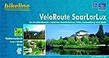 VeloRoute SaarLorLux: Im Dreiländereck zwischen Saarbrücken, Trier, Luxemburg und Metz ,1: 50.000, 480 km, wetterfest/reißfest, GPS-Tracks-Download