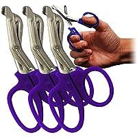 surgimax Mini 11,5cm Mini Tough Cut Bandage Schere Hochwertige 3Pack, violett preisvergleich bei billige-tabletten.eu
