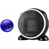 Ironheel Calentador de Escritorio pequeño Mini Espacio Personal portátil Calentadores eléctricos para el Invierno Caliente de