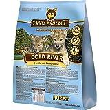 Wolfsblut Cold River PUPPY Trockenfutter für Welpen mit Forelle und Süßkartoffel (500g)