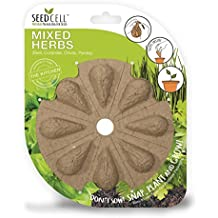 SeedCell MH05 Bio-Degradable Mixed Herbs Seed - Green