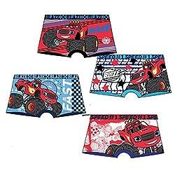 Pack de 4 boxers multicolor...