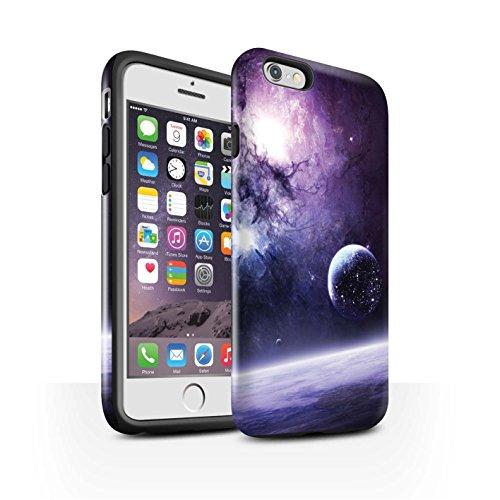 Offiziell Chris Cold Hülle / Glanz Harten Stoßfest Case für Apple iPhone 6S / Schmelzen Sonne Muster / Fremden Welt Kosmos Kollektion Planet/Mond