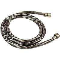 Qualità Tubo doccia tubo doccetta Alt ottone OLD BRASS metallo acciaio inox 170cm/17m per doccetta/doccia Standard con attacco/filettatura/ideale per la vasca da bagno o doccia SANIXA®