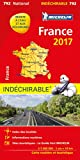Carte France Indéchirable Michelin 2017...