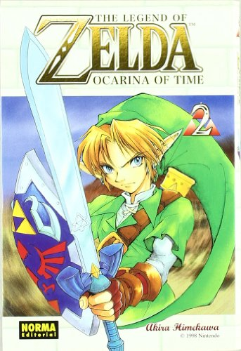 The Legend of Zelda 2: Ocarina of Time por Akira Himekawa