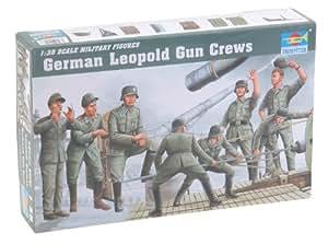 Trumpeter 00406modèle Kit artillerie Occupation Allemande de Leopold