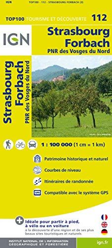 Top100112 Strasbourg/Forbach 1/100.000