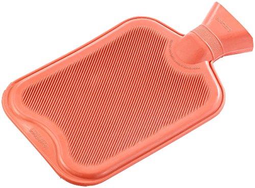 PEARL Bettflaschen: XL-Wärmflasche rot, 2 Liter (Kinder-Wärme-Flaschen)