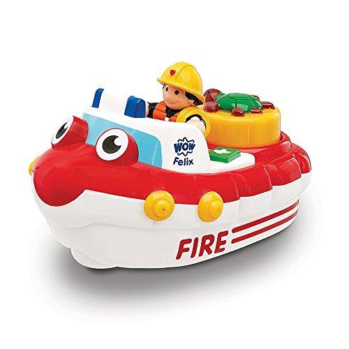 Jumbo WOW Toys - Fireboat Felix, coche de juguete (01017)