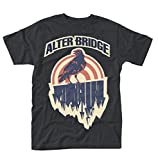 Mens Alter Bridge Crow offiziell Männer T-Shirt Herren (Medium)