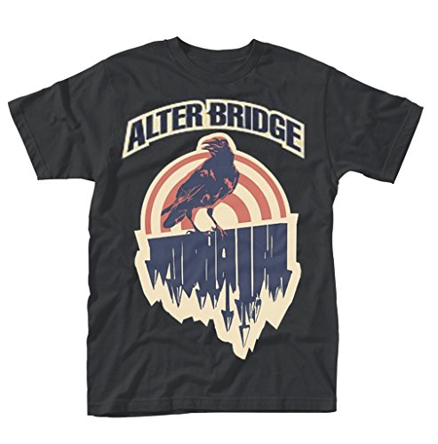 Alter Bridge Crow Rock Heavy Metal offiziell Männer T-Shirt Herren (XX-Large) (Shirt Alter Bridge)