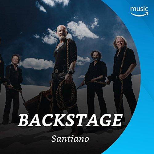 Backstage mit Santiano