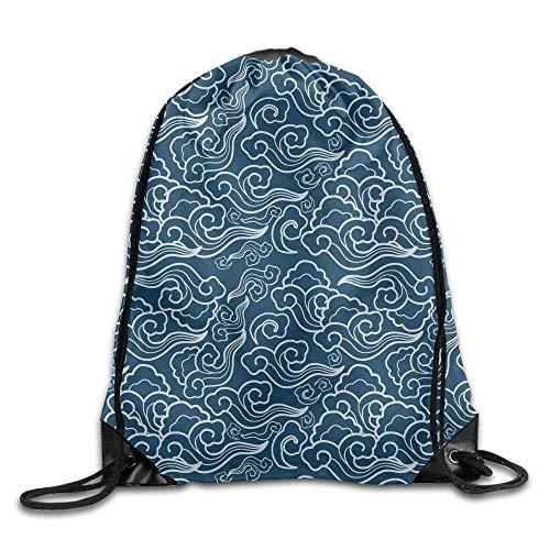 Setyserytu Sporttasche mit Kordelzug, Sportrucksack, Reiserucksack, Drawstring Bag Gym Bag Travel Backpack, Stylish Skull, Best Gym Backpack for Teen Kids pic7 (Schuhe Skull Kids)