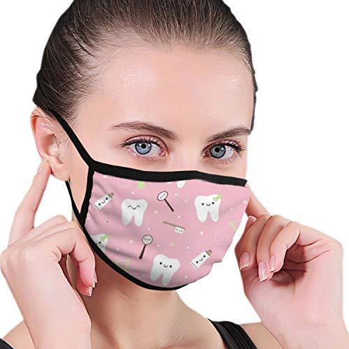 Dentalgewebe Zahnpasta Anti Pollution Staubmaske Waschbar und wiederverwendbar Gesichtsmaske aus Polyester Schutz vor Grippe Keim Pollen Allergie Atemschutzmaske