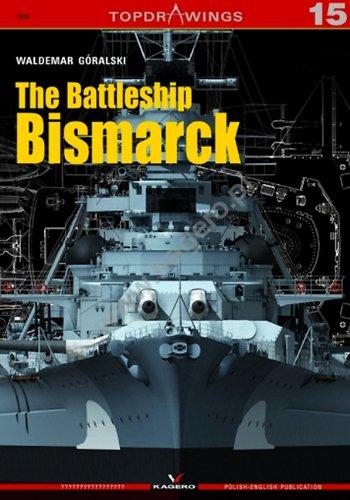 Battleship Bismarck (Top Drawings) por Waldemar Goralski