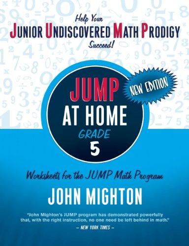 JUMP at Home, Grade 5: Worksheets for the JUMP Math Program (Jump Math Series)