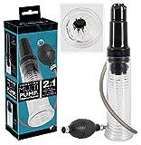 You2Toys Penispumpe - Penispumpe und Masturbator für Männer, Vakuumpumpe mit Eichel-Vibration, Potenzpumpe für Stimulation und Training für ihn