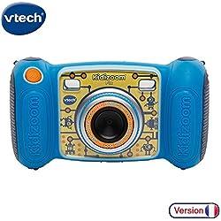 VTech - 193605 - Kidizoom Pix - Bleu - Appareil Photo Enfant - Appareil Photo Numérique