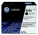 HP 64X (CC364X) Schwarz Original Toner mit hoher Reichweite für HP Laserjet P4015, HP Laserjet P4516
