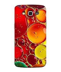 PrintVisa Designer Back Case Cover for Samsung Galaxy Grand 2 :: Samsung Galaxy Grand 2 G7105 :: Samsung Galaxy Grand 2 G7102 :: Samsung Galaxy Grand Ii (Beautyful Colourful Oil Drops Texture Wallpaper )