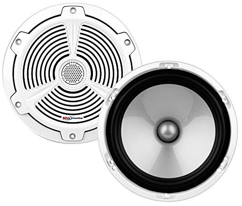 Boss Audio Systems 153-MR652C Altavoces Dos Vías 164Mm, Color blanco