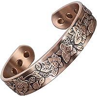 Damen Magnetisches Armband für Arthritis Damen Reines Kupfer magnetisches Armband für Schmerzlinderung Therapeutische... preisvergleich bei billige-tabletten.eu